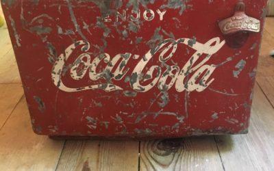 Vintage Coca cola koelbox